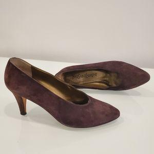 YSL vintage sz6 heels